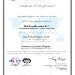 GMP Certification 2021